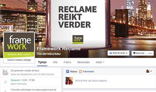 Framework Reclame webdesign